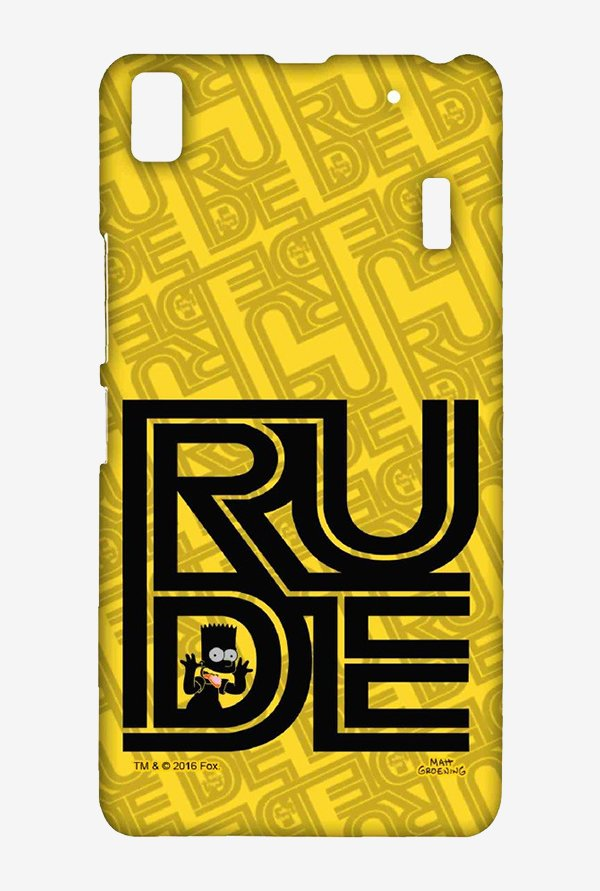 Simpsons Rude Case for Lenovo A7000
