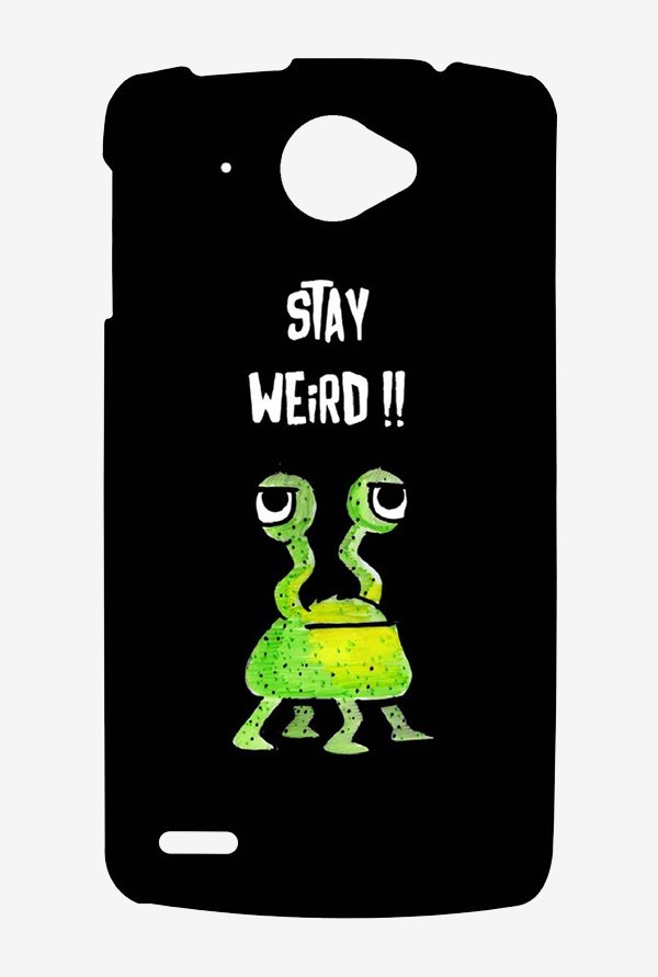 Kritzels Stay Weird Black Case for Lenovo S920