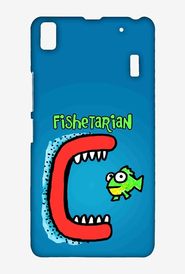 Kritzels Fishetarian Case for Lenovo A7000