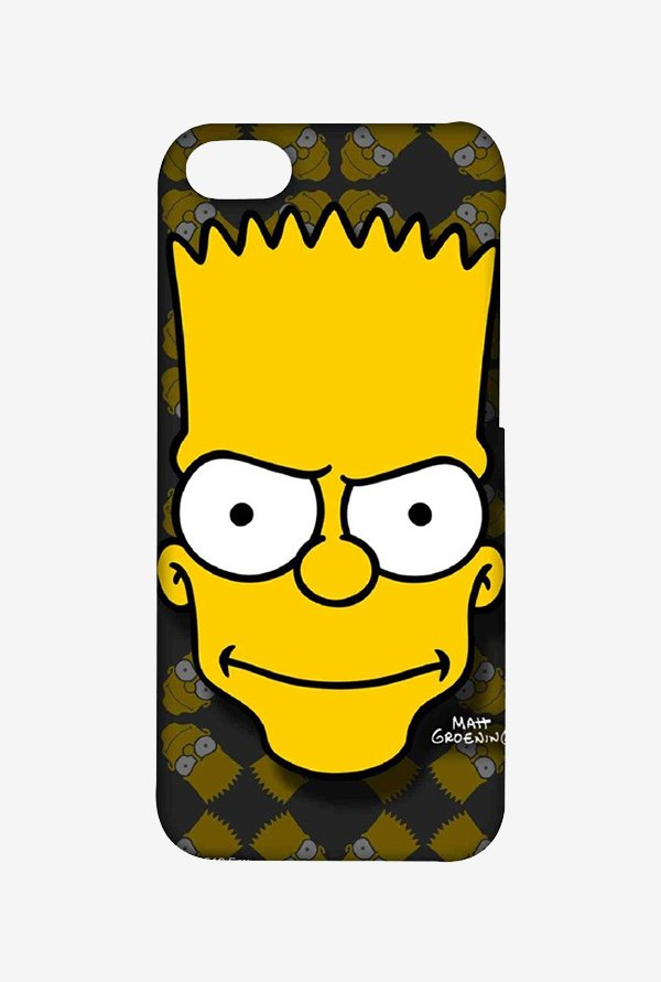 Simpsons Bartface Case for iPhone 5C