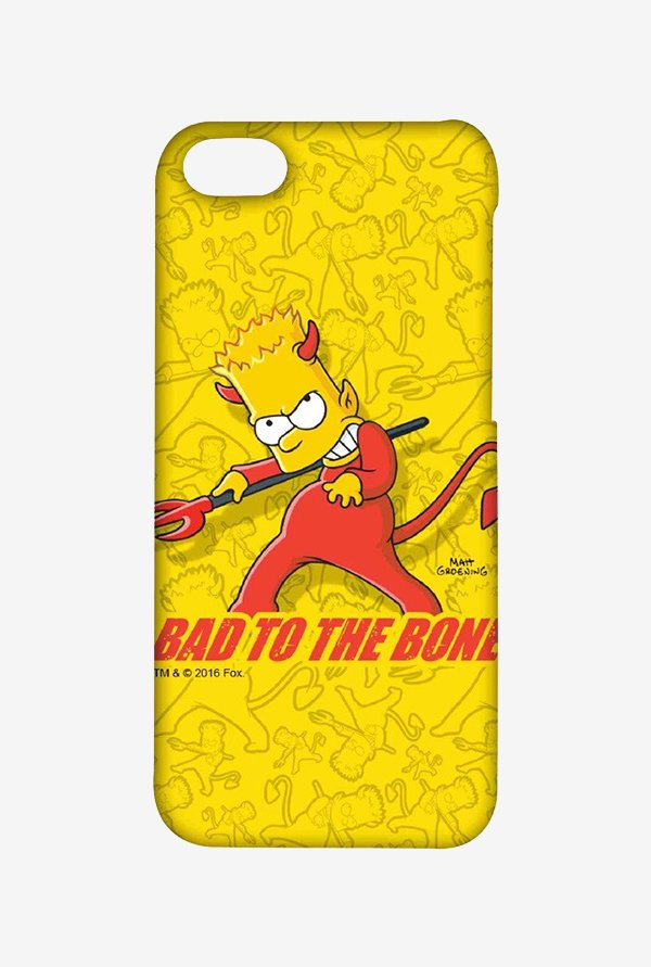 Simpsons Bad To The Bone Case for iPhone 5C