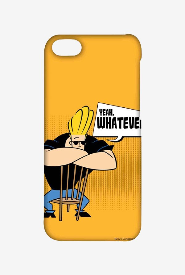 Johnny Bravo Yeah Whatever Case for iPhone 5C