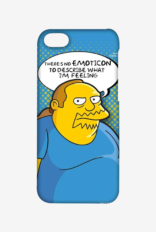 Simpsons Comic Guy Case for iPhone 5C
