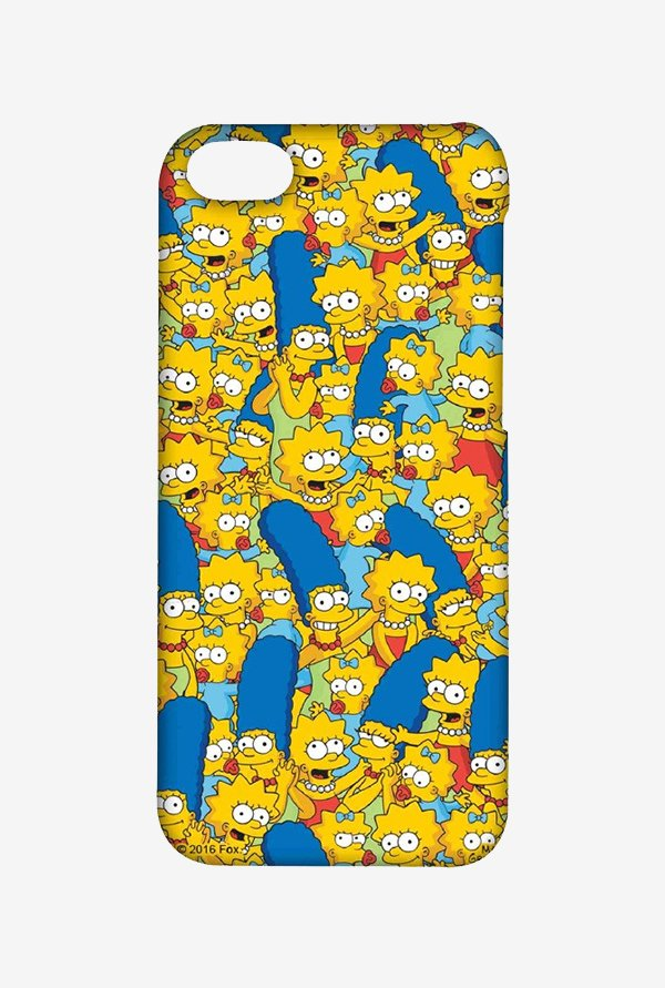 Simpsons Pattern Case for iPhone 4/4s
