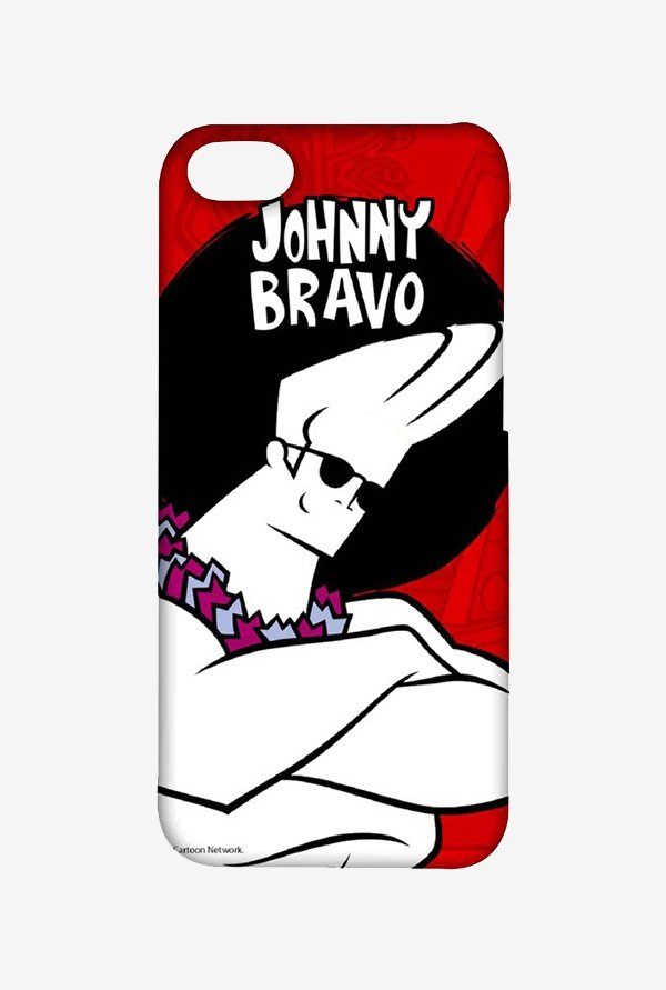 Johnny Bravo Hawaii Case for iPhone 4/4s