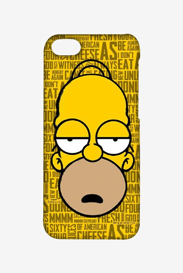 Simpsons Homer Says Case for iPhone 4/4s