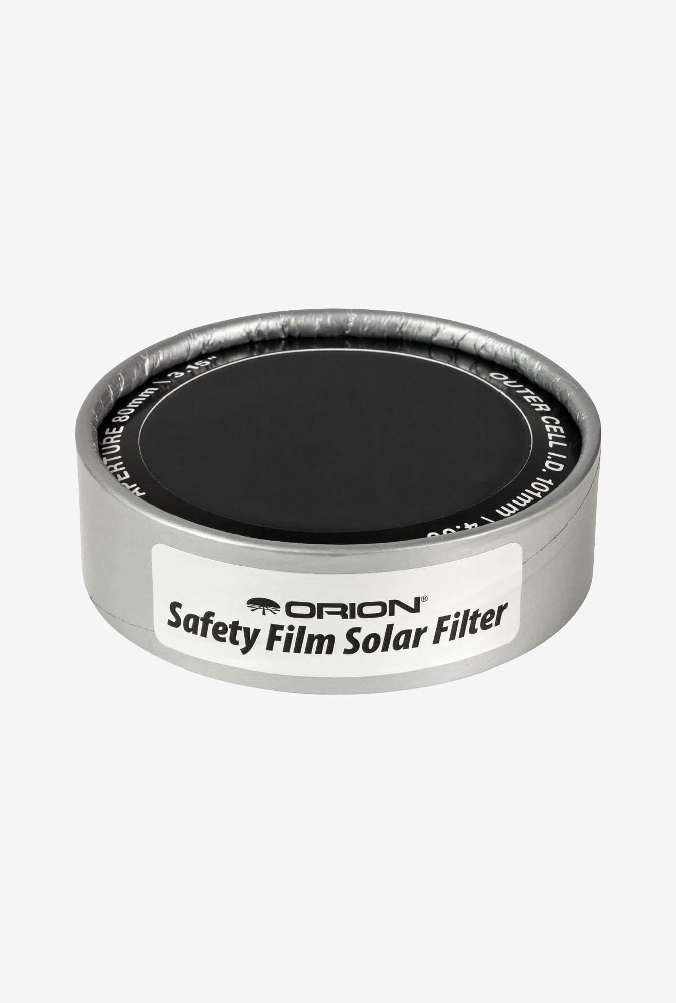 Orion 7785 E-Series Safety Film Solar Filter (Silver)