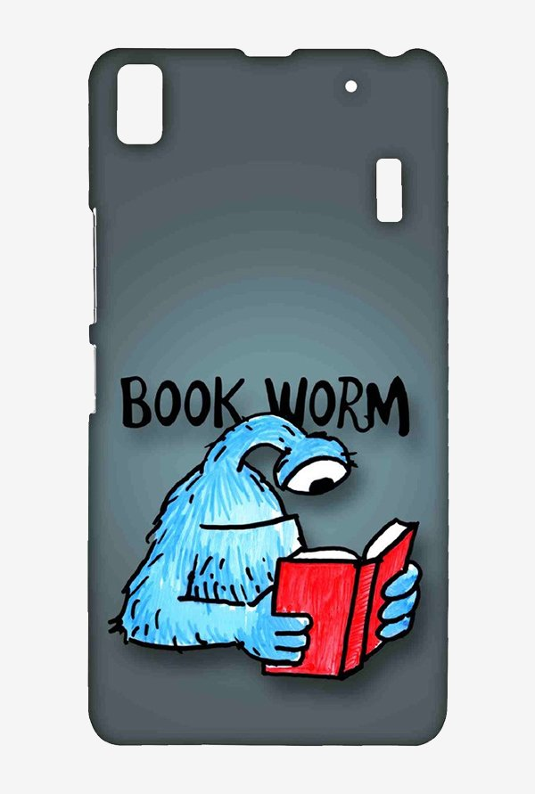 Kritzels Book Worm Case for Lenovo A7000