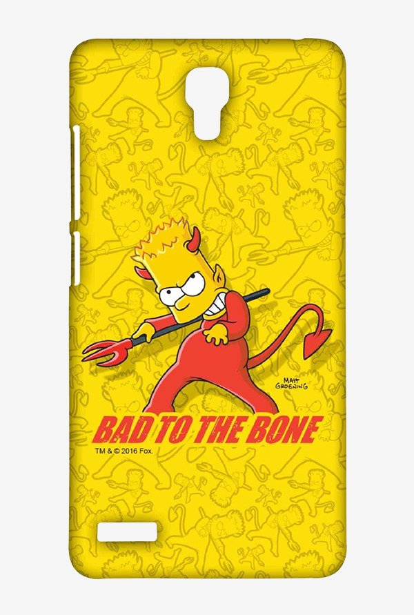 Simpsons Bad To The Bone Case for Xiaomi Redmi Note Prime