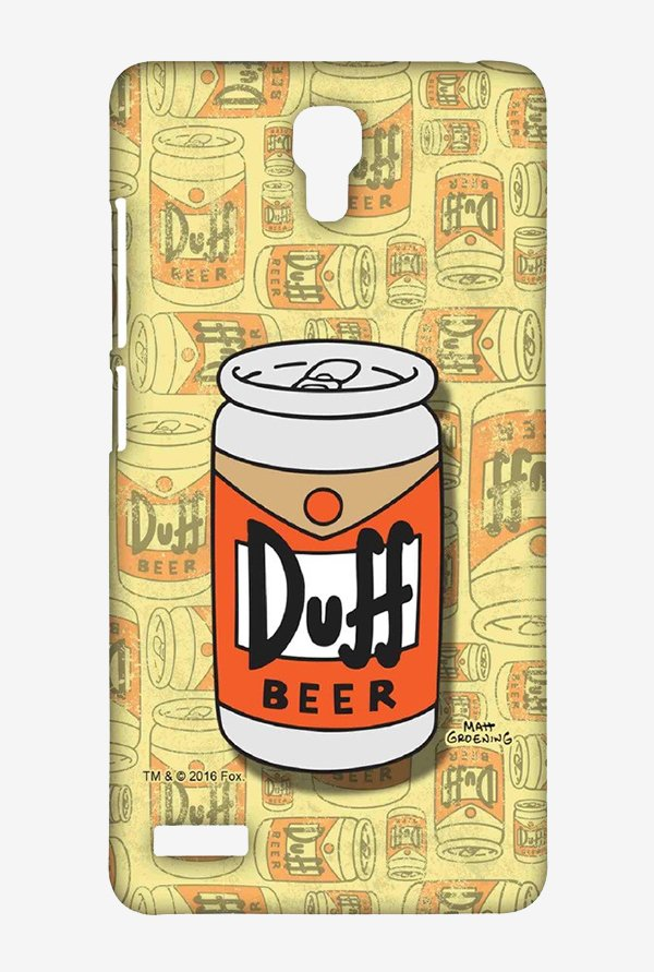 Simpsons Duff Beer Case for Xiaomi Redmi Note 4G