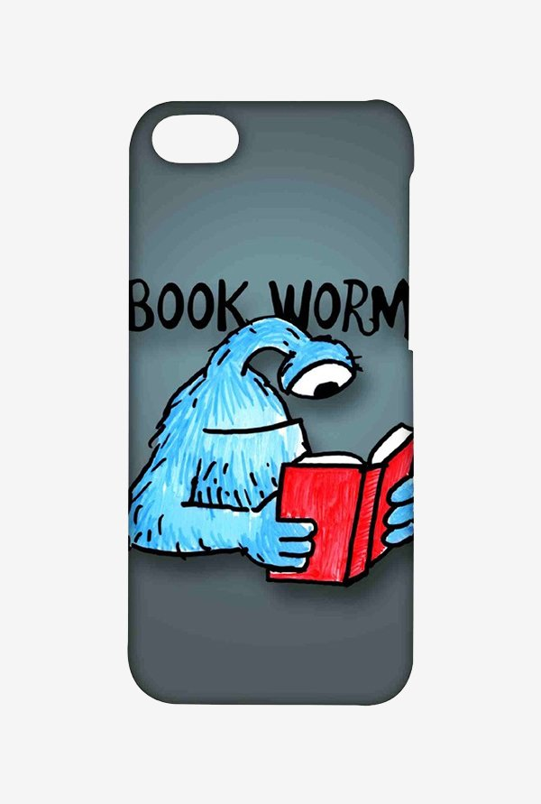 Kritzels Book Worm Case for iPhone 5C