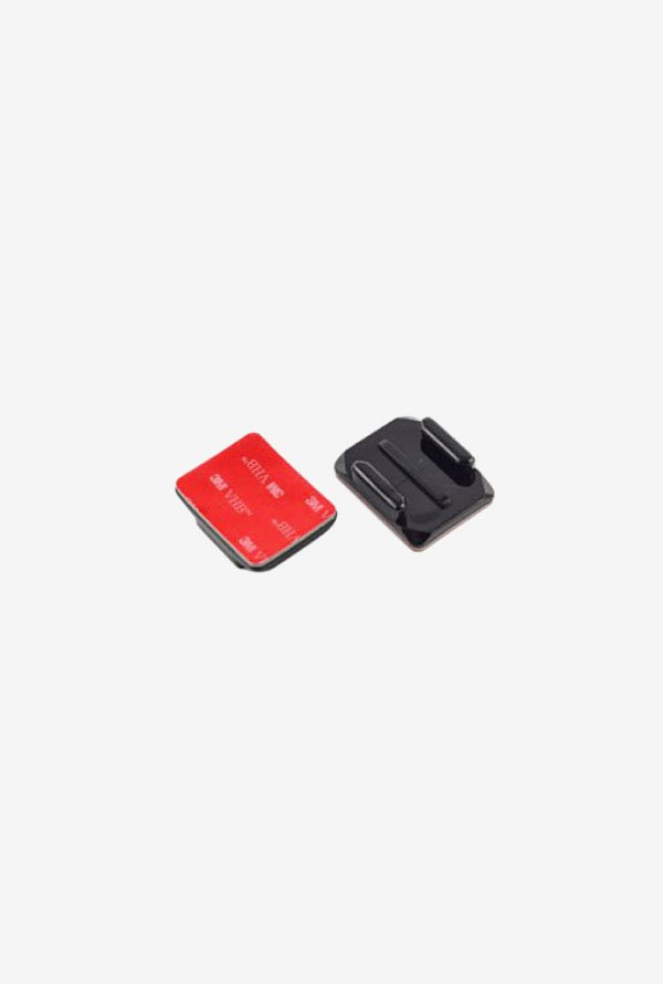 Wocase 2X Curved Adhesive Mounts For Gopro Hero (Black)