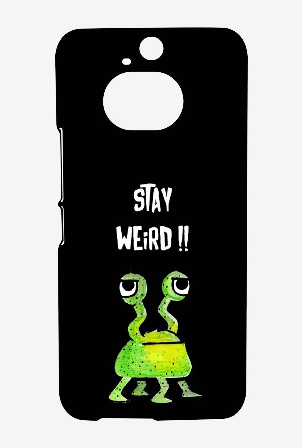 Kritzels Stay Weird Black Case for HTC One M9 Plus