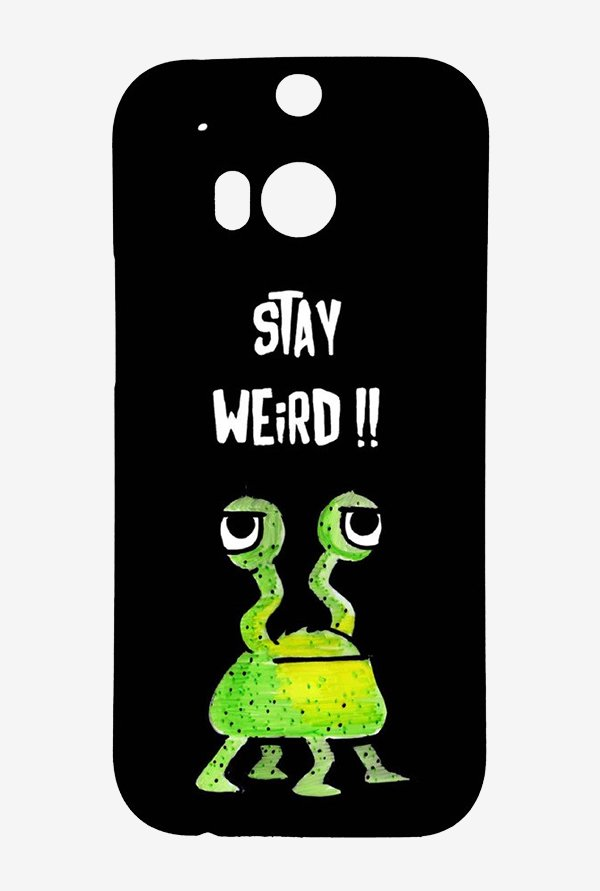 Kritzels Stay Weird Black Case for HTC One M8