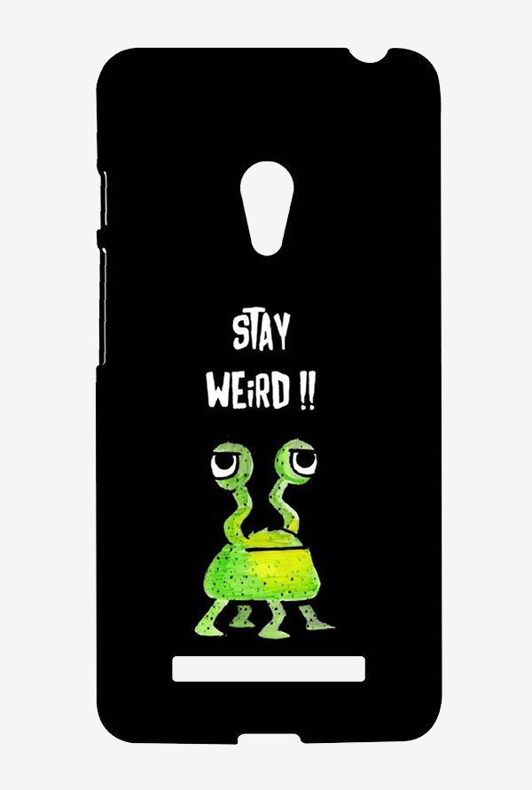 Kritzels Stay Weird Black Case for Asus Zenfone 5