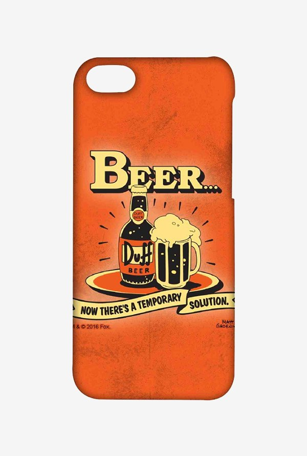 Simpsons Temporary Solution Case for iPhone 4/4s
