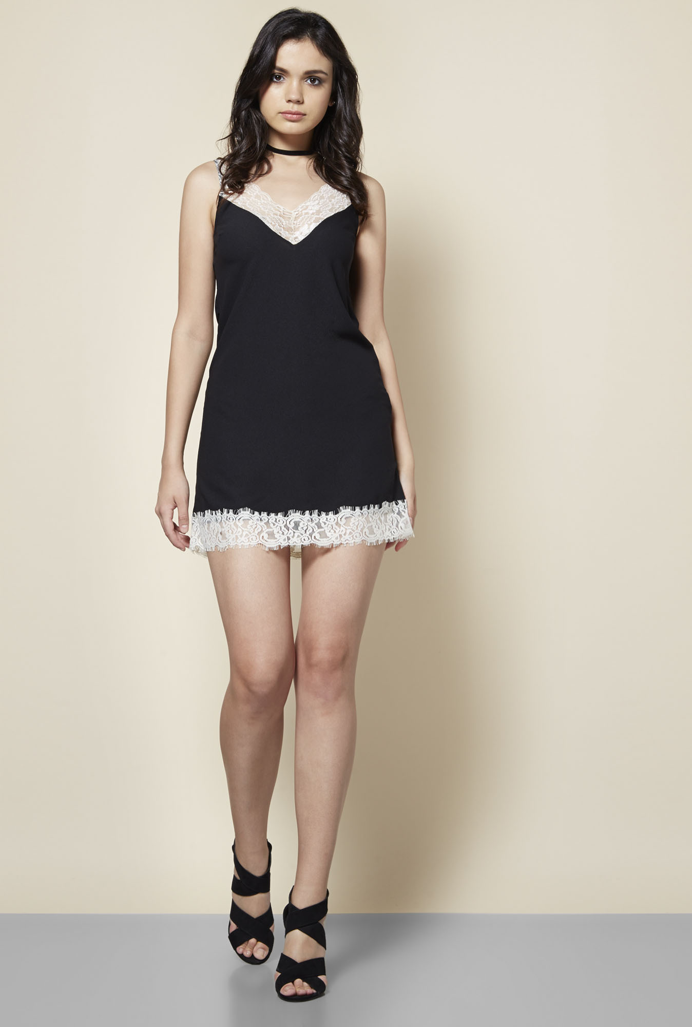 New Look Black Lace Dress