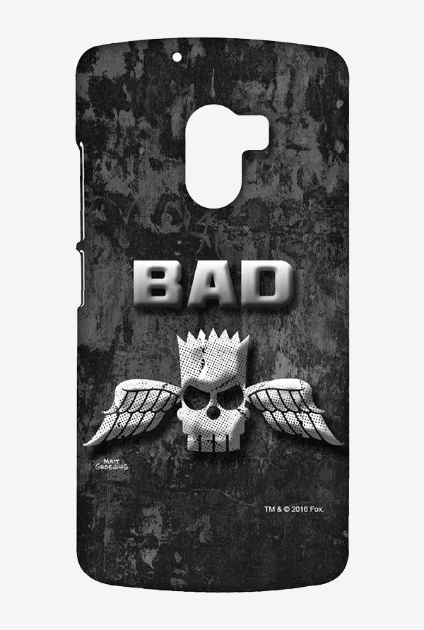 Simpsons Cracked Wall Bart Case for Lenovo K4 Note