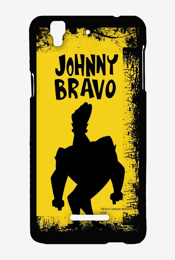 Johnny Bravo Yellow Grunge Case for Yu Yureka Plus