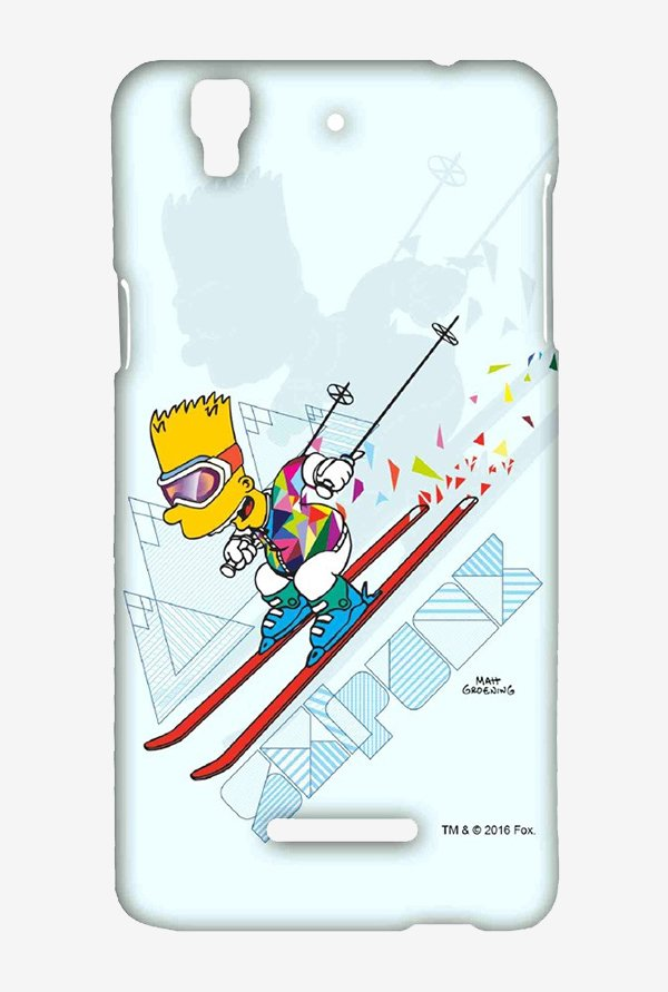 Simpsons Ski Punk Case for Yu Yureka Plus