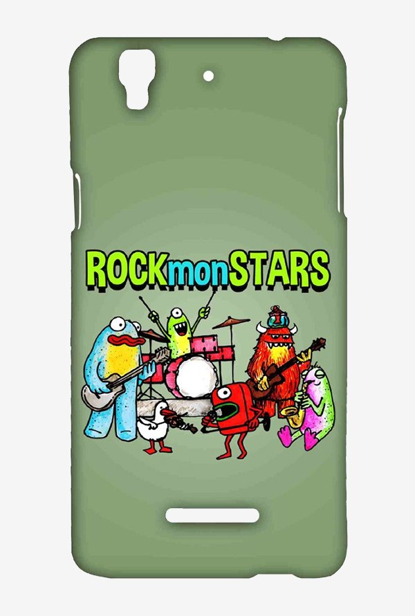 Kritzels Rockmonstars Case for Yu Yureka Plus