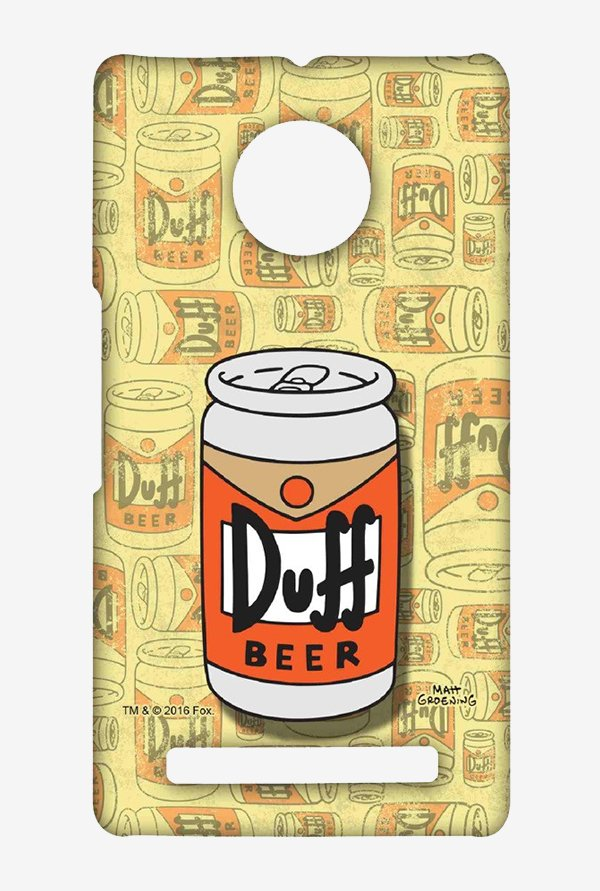Simpsons Duff Beer Case for Yu Yuphoria