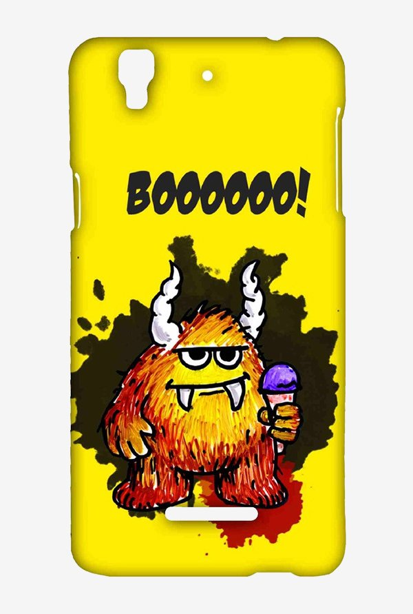 Kritzels Booo Case for Yu Yureka Plus