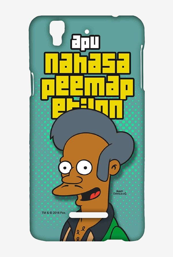 Simpsons Apu Case for Yu Yureka Plus