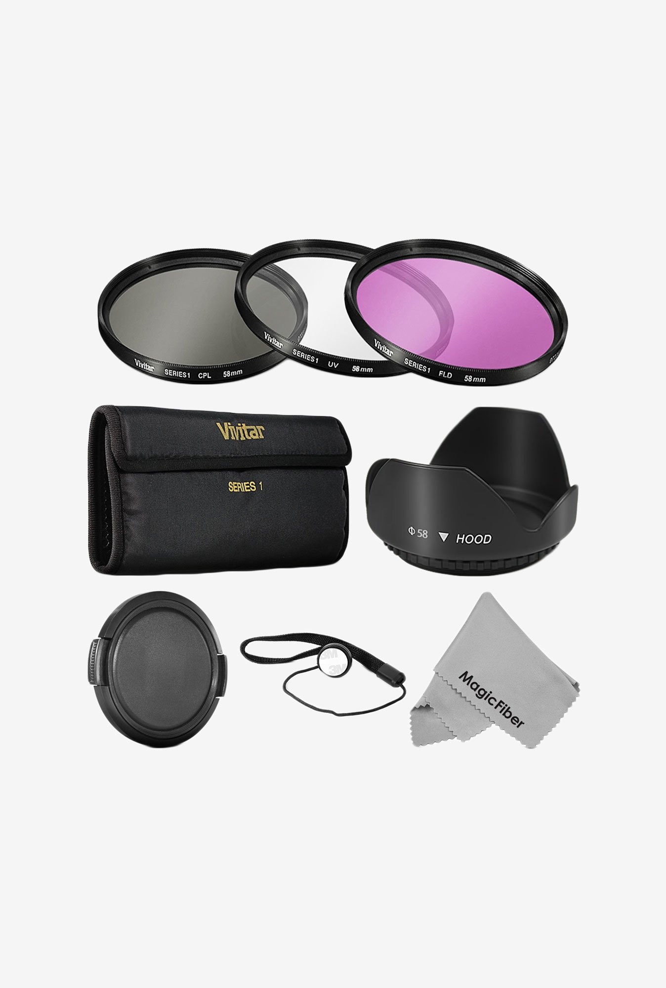 Goja 58Mm Professional Lens Filter Accessory Kit