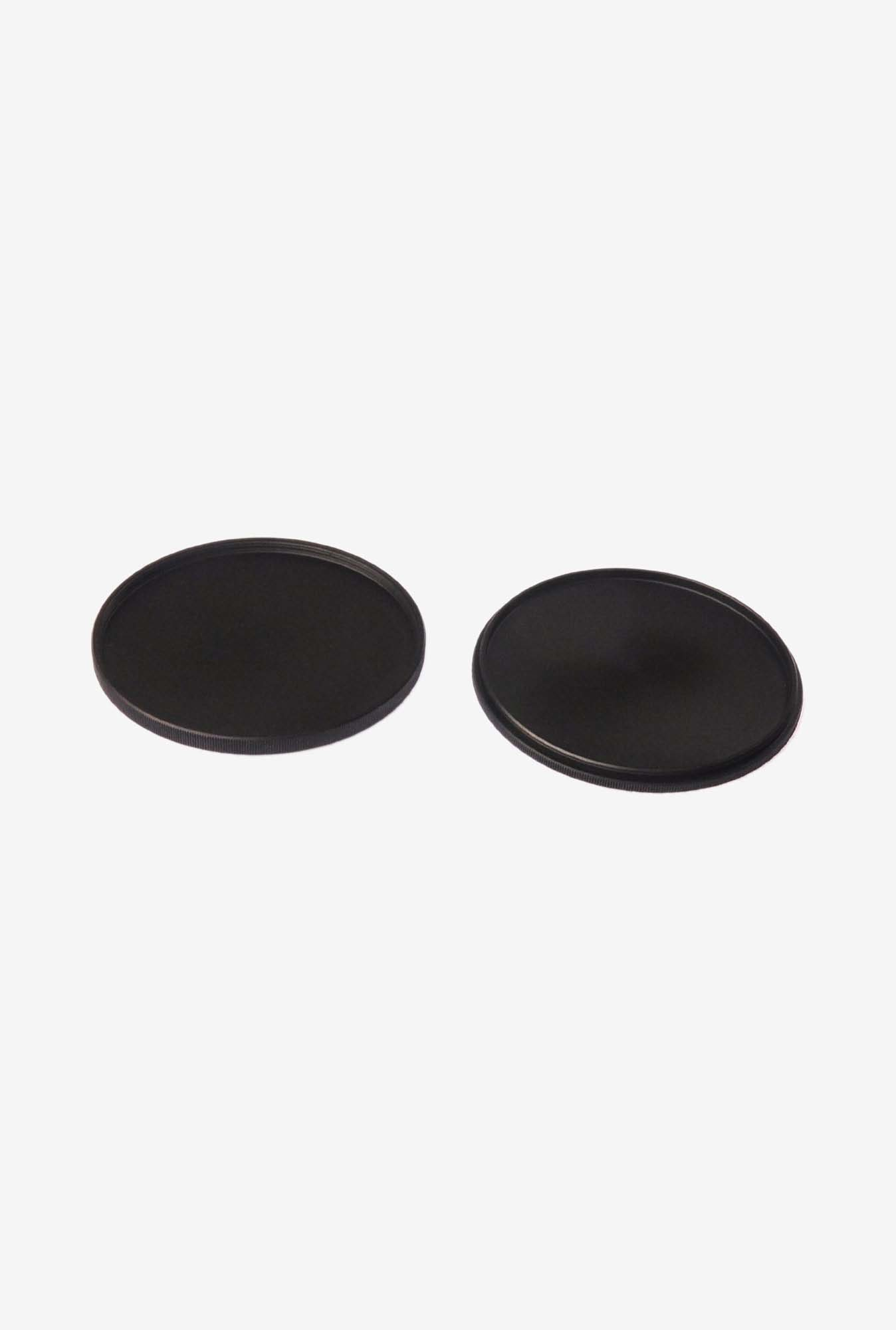 Fotasy MLC 62 mm Camera Filter Stack Caps (Black)