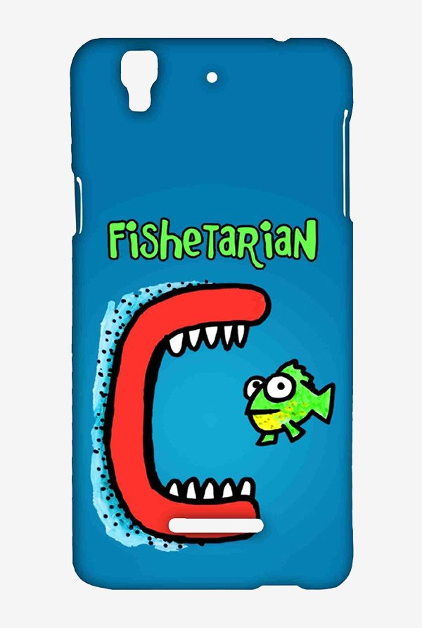 Kritzels Fishetarian Case for Yu Yureka