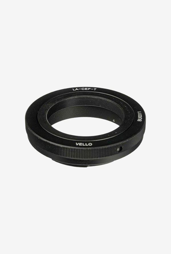 Vello LA-CEF-T T Mount Lens to Canon EOS Camera Adapter