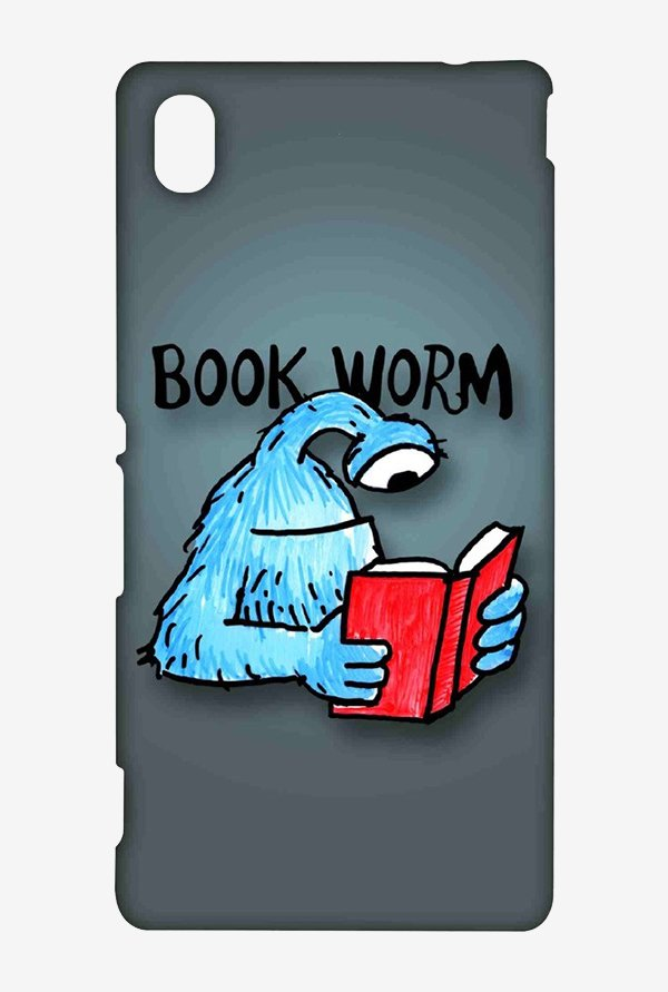 Kritzels Book Worm Case for Sony Xperia M4