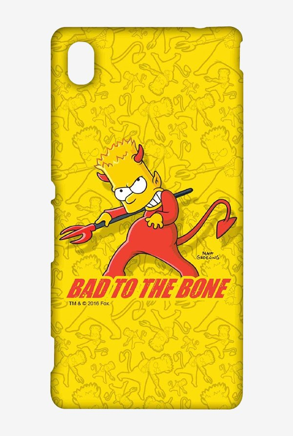 Simpsons Bad To The Bone Case for Sony Xperia M4