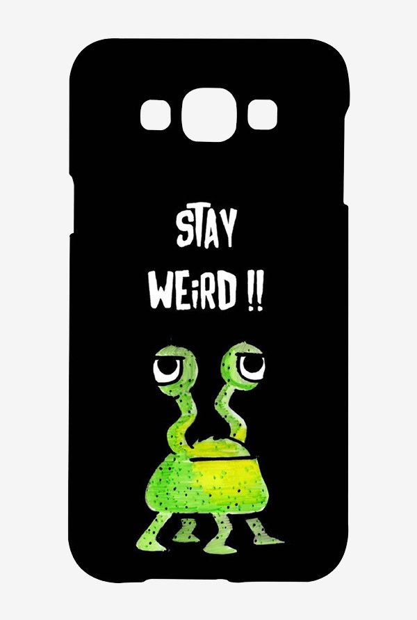 Kritzels Stay Weird Black Case for Samsung Grand Max