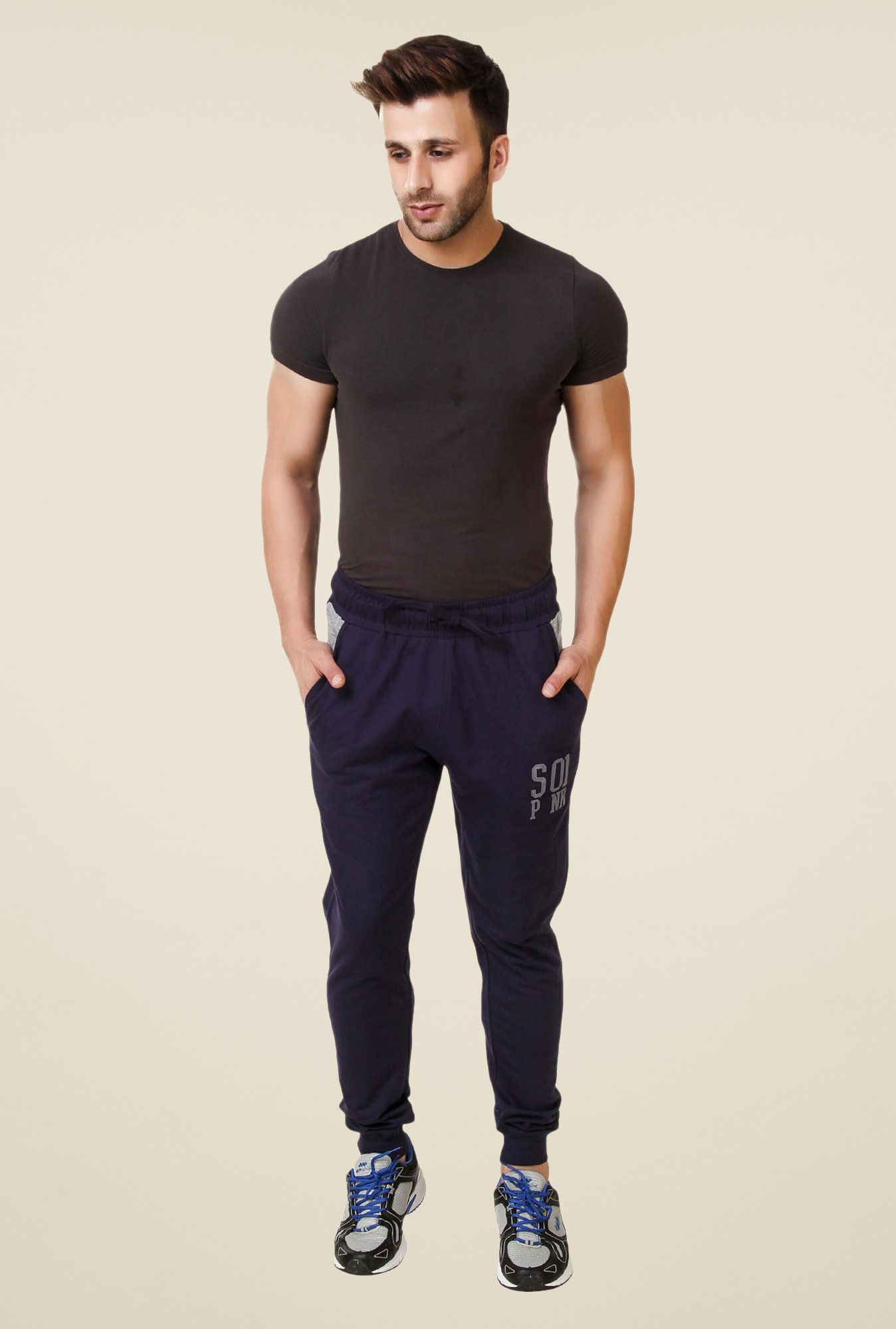 Spunk Navy Duffy Joggers