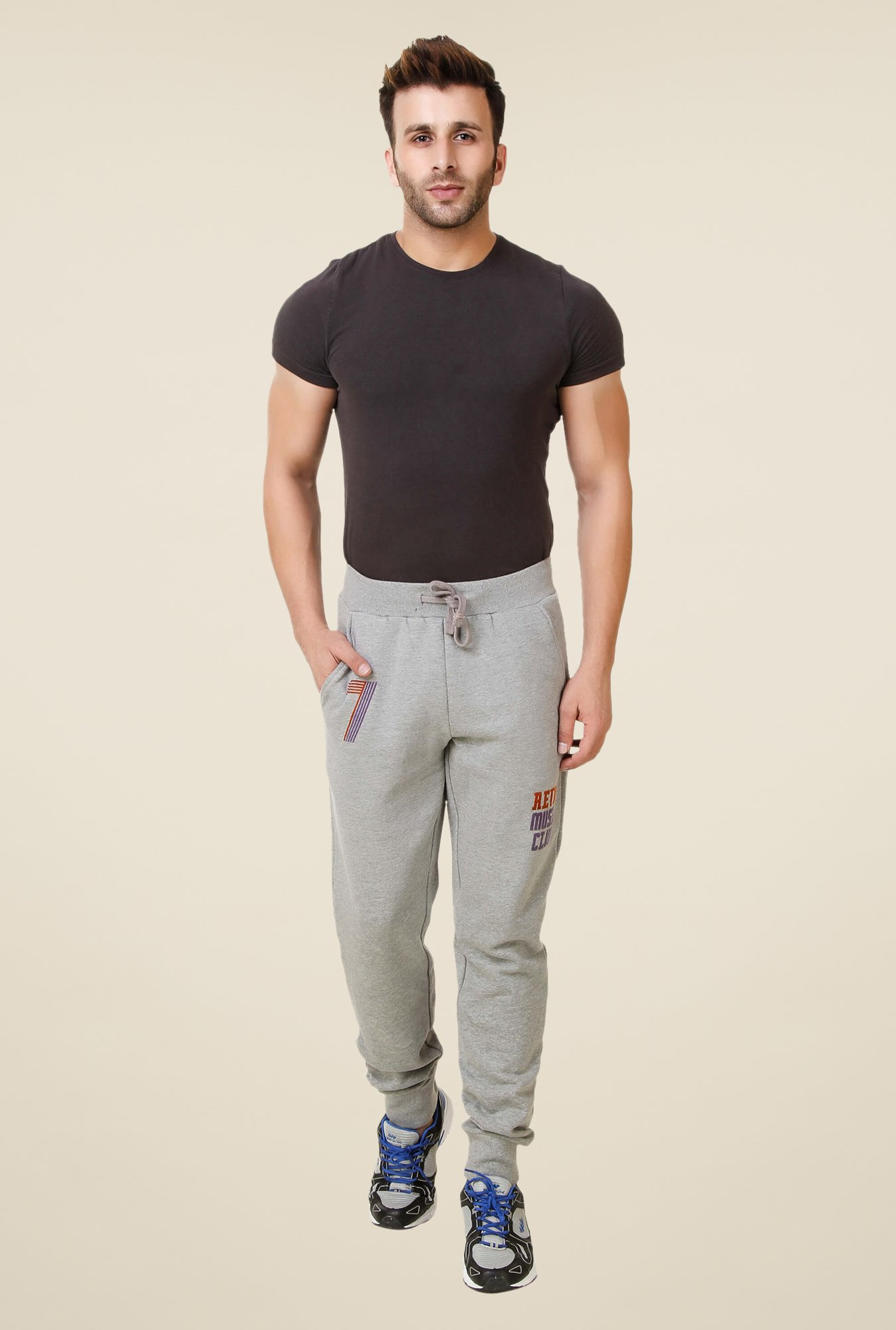 Spunk Grey Pazo Trackpants