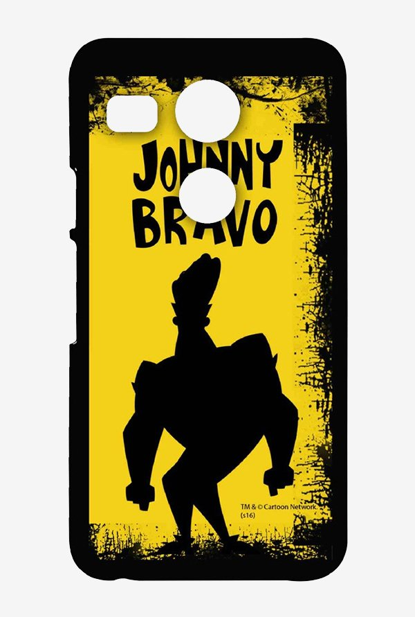 Johnny Bravo Yellow Grunge Case for LG Nexus 5X