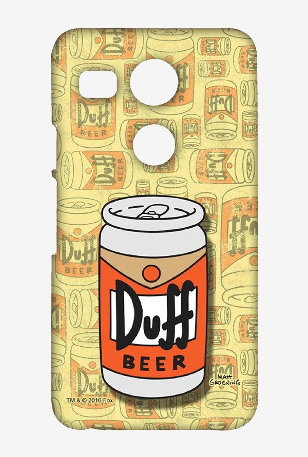 Simpsons Duff Beer Case for LG Nexus 5X