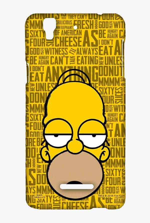 Simpsons Homer Says Case for Yu Yureka Plus
