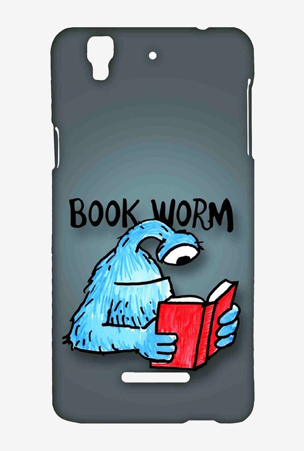Kritzels Book Worm Case for Yu Yureka Plus