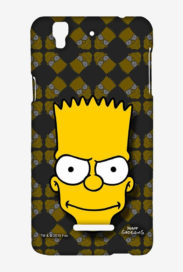 Simpsons Bartface Case for Yu Yureka Plus