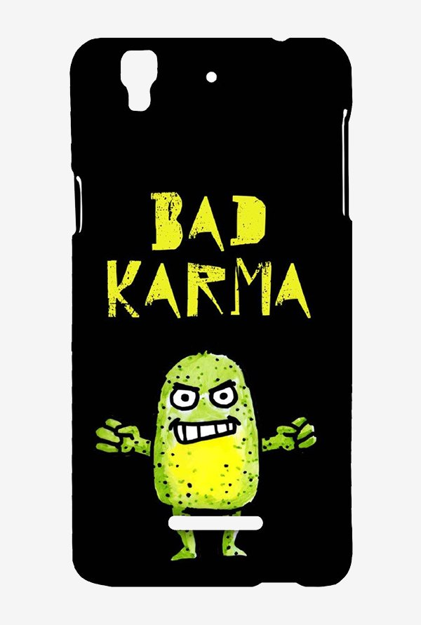 Kritzels Bad Karma Case for Yu Yureka Plus
