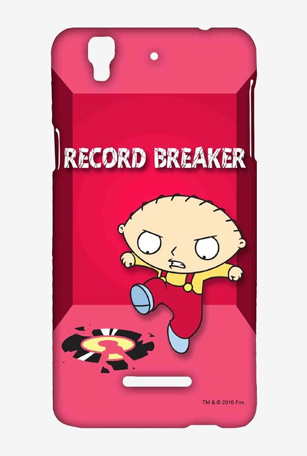 Family Guy Record Breaker Case for Yu Yureka
