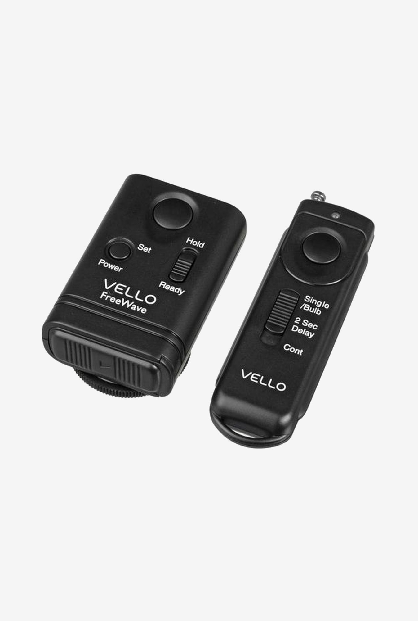 Vello RW-C2 FreeWave Wireless Remote Shutter Release (Black)