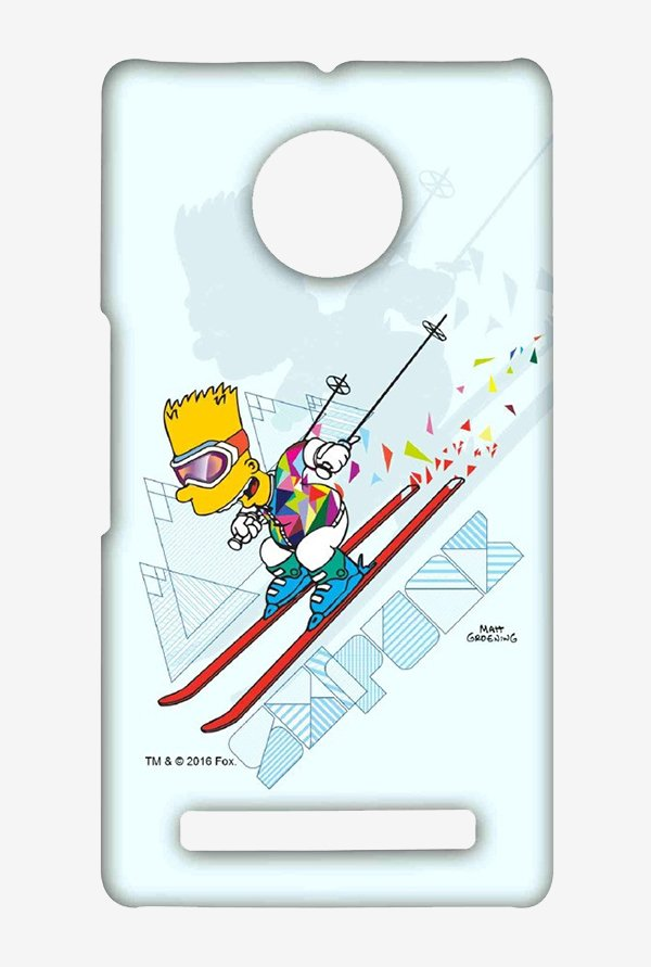 Simpsons Ski Punk Case for Yu Yuphoria
