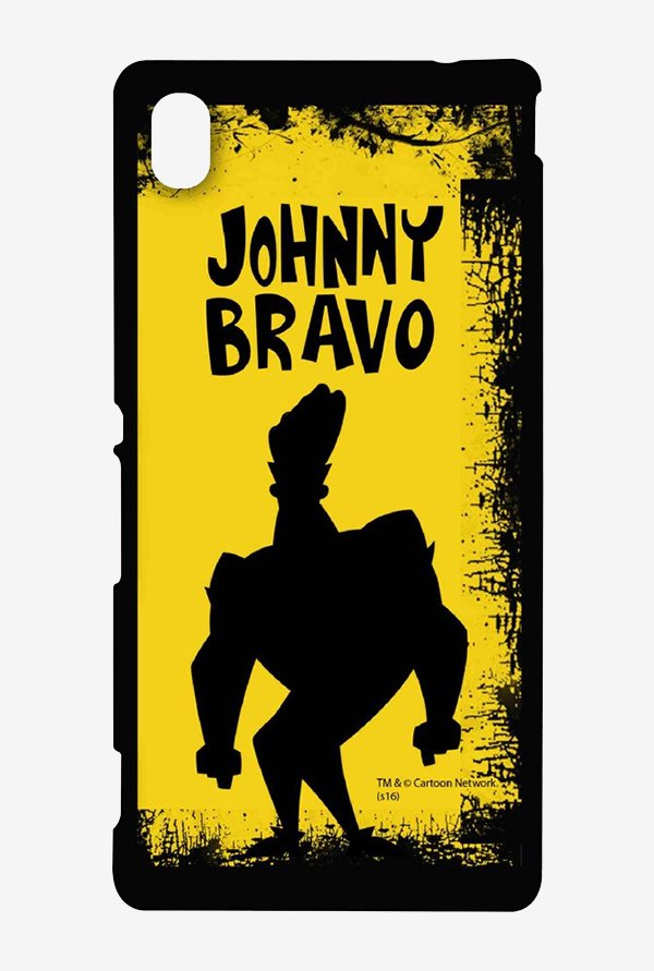 Johnny Bravo Yellow Grunge Case for Sony Xperia M4