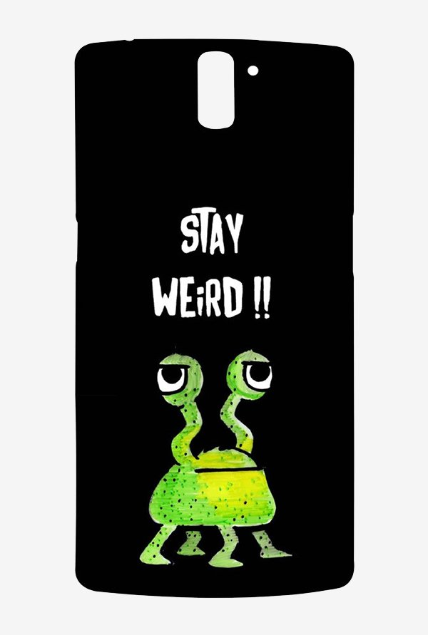 Kritzels Stay Weird Black Case for Oneplus One