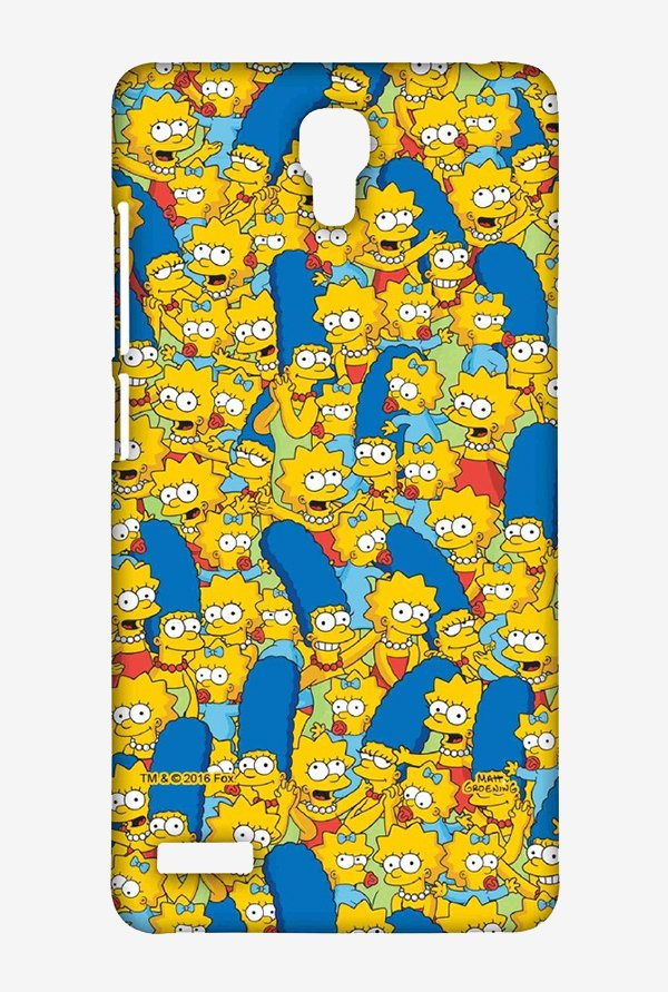 Simpsons Pattern Case for Xiaomi Redmi Note Prime