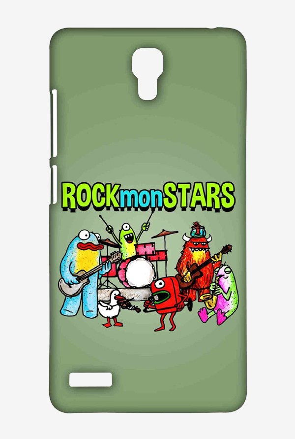 Kritzels Rockmonstars Case for Xiaomi Redmi Note Prime